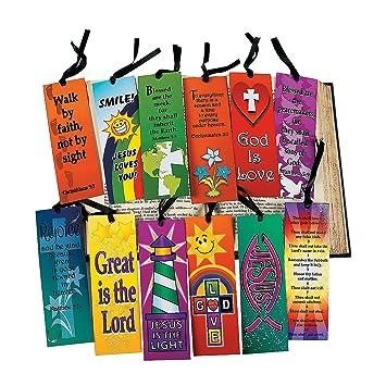 Amazon.com : Mega Religious Bookmark Assortment (12 dozen) - Bulk ...