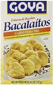 Goya Codfish Fritter Mix, 4.5 Ounce