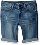 Amazon Price History for:Calvin Klein Girls' Denim Short