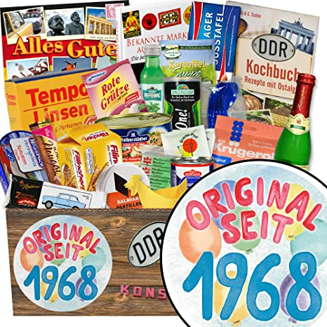 Original Seit 1968 Geschenke Geburtstag Lustig Geschenk Ost