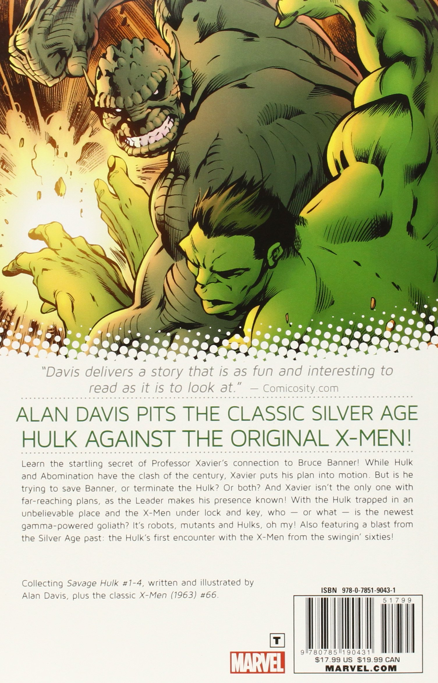 Amazon savage hulk volume 1 the man within 9780785190431 amazon savage hulk volume 1 the man within 9780785190431 alan davis books fandeluxe Image collections