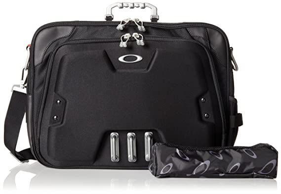 c37b42100c5 Amazon.com  Oakley Men s Home Office Computer Briefcase, Black, One Size   Clothing