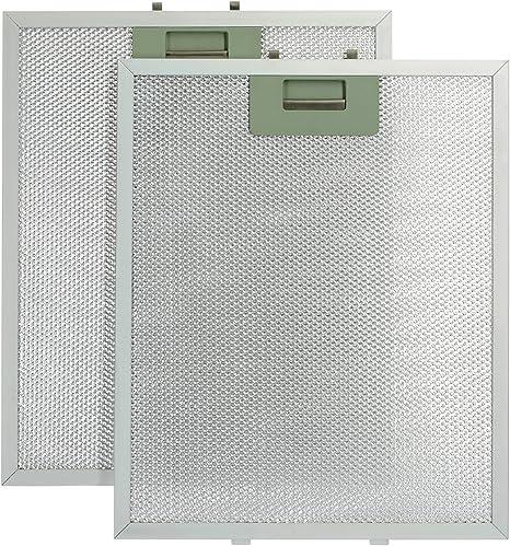 Qualtex Universal cocina de ventilación de malla metálica campana extractora filtros de grasa – 2 unidades (320 x 260 mm): Amazon.es: Grandes electrodomésticos