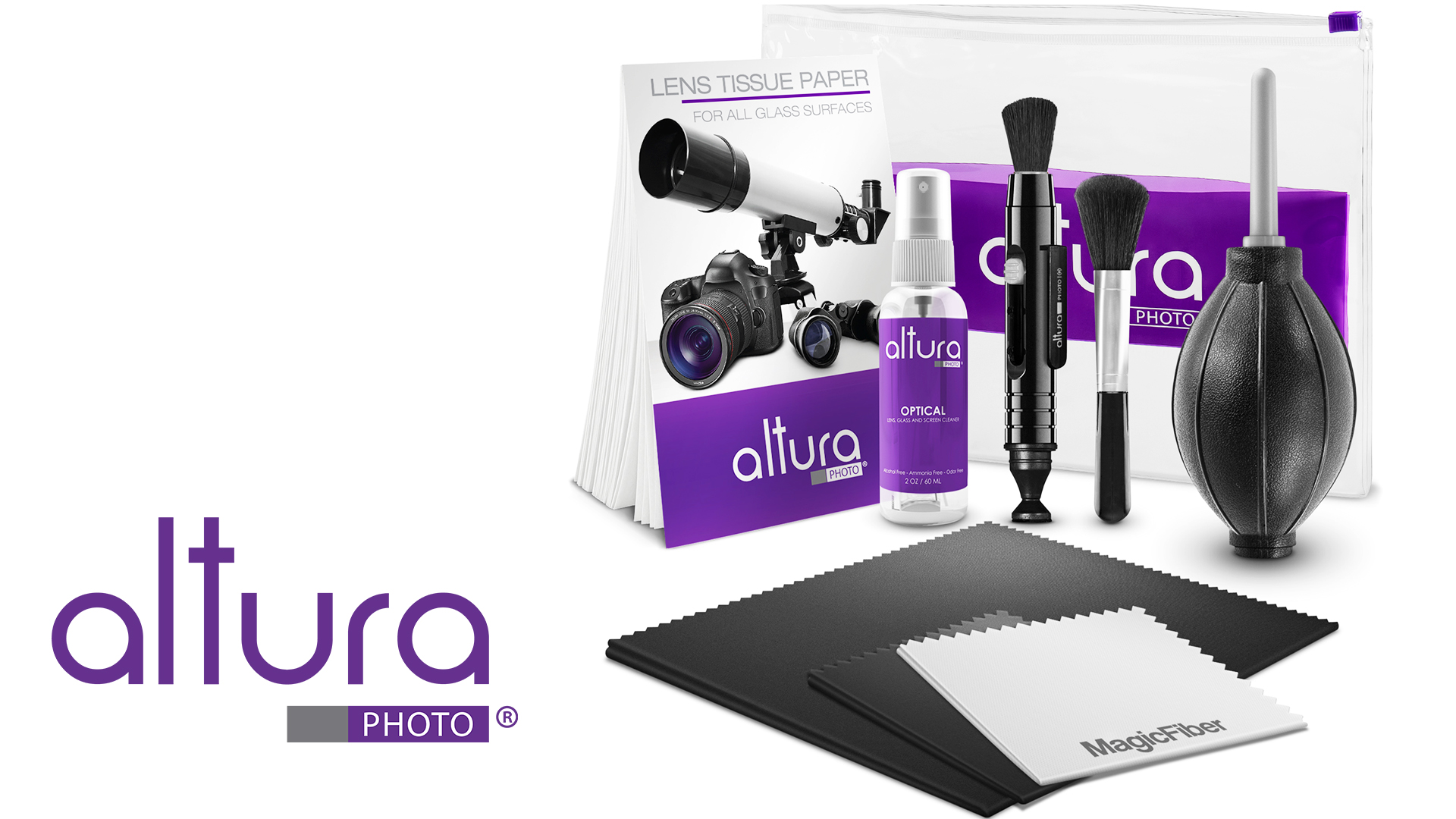 Altura Photo Professional Cleaning Kit For Dslr Cameras