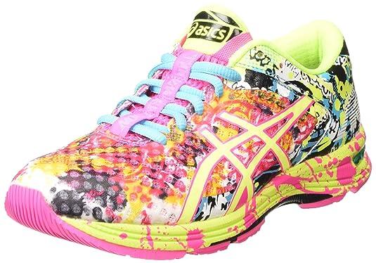 low priced eb3b0 80d4e ASICS Gel-Noosa Tri 11 - Scarpe Running Donna, Rosa (Hot Pink Flash  Yellow Black 3407), 39 1 2 EU  Amazon.it  Scarpe e borse