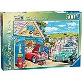 Ravensburger Les Beaux Jours Au Travail Le Mechanicien 500 Pièces Puzzle
