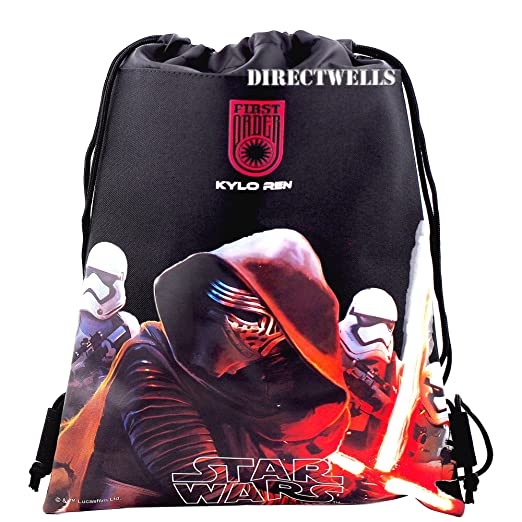 7ccdba20862 Amazon.com   Disney Star Wars Authentic Licensed Drawstring Bag ...