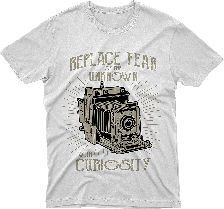 fm10 - Camiseta de repuesto para cámara de fotos de época Bianco Medium: Amazon.es: Ropa y accesorios