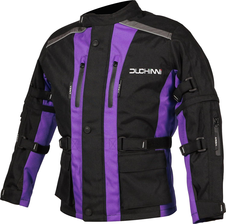 Red, X-Large DUCHINNI Unisex-Child JAGO Youth Motorcycle Jacket
