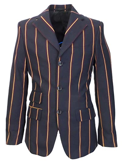 ff12364a Relco Mens Weller Navy Boating Blazer Jacket: Amazon.co.uk: Clothing