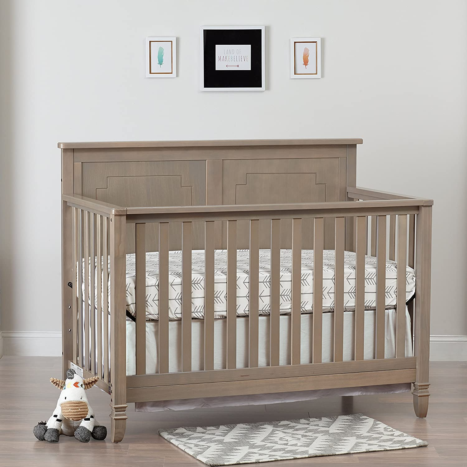 Cribs Made In Usa Solid Wood Childrens Furniture Ba Eco