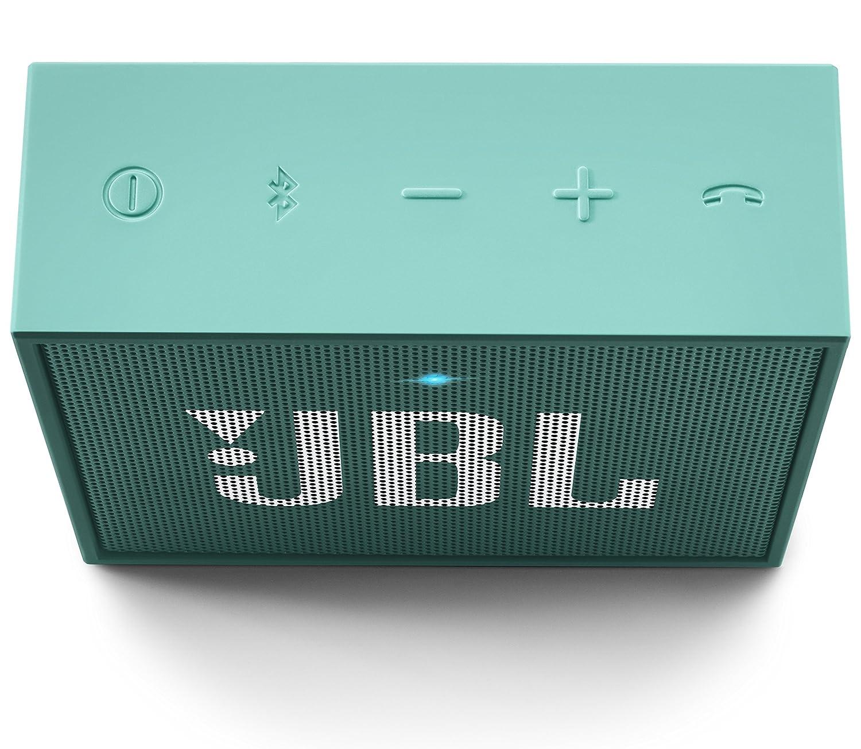 1.0 Canales, De 1 v/ía, 4 cm, 3 W, 180-20000 Hz, 80 dB Altavoces port/átiles JBL Go 3 W Mono Portable Speaker Turquesa
