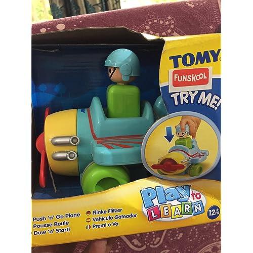 TOMY Pousse et Trane - Pousse roule - Voiture