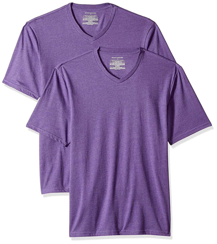 Essentials Mens 2-Pack Loose-fit V-Neck T-Shirt
