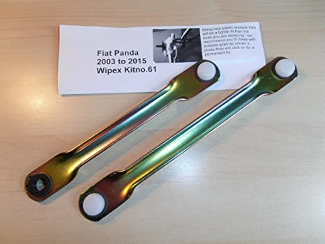 Motor para limpiaparabrisas Set de varillas de empuje para acoplamiento WIPEX Kit nº 61