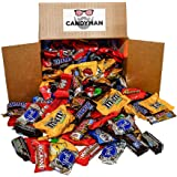 CANDYMAN Chocolate Candy (5.6 lbs) Variety Pack Hersheys Nestles Reese's Snickers York Peppermint Almond Joy Kit Kat, M&Ms Pe