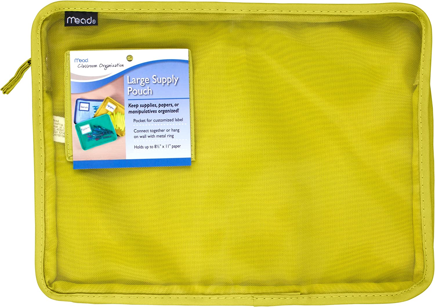 Mead Large Supply Pouch, Green (72294)
