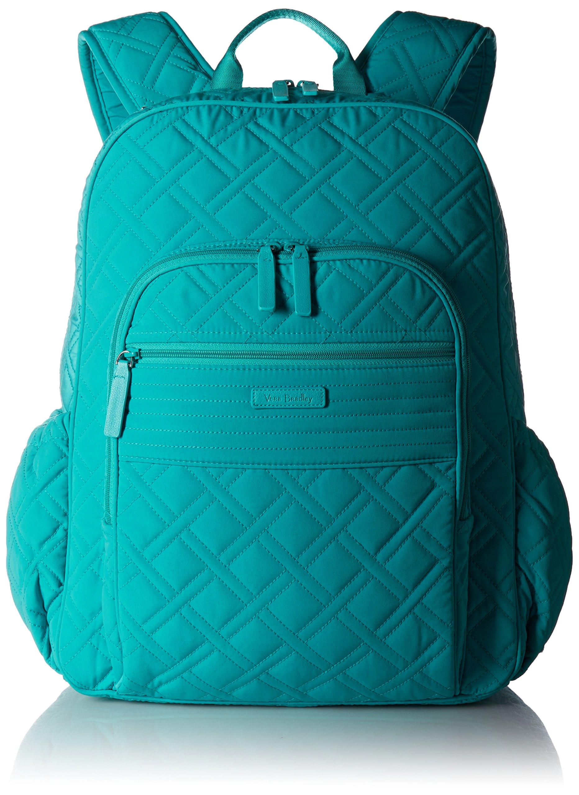 Vera Bradley Women's Backpack, Turquoise Sea by Vera Bradley