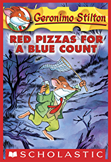 Geronimo stilton 6 paws off cheddarface kindle edition by geronimo stilton 7 red pizzas for a blue count fandeluxe Image collections