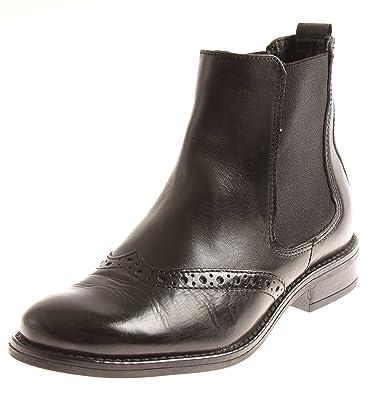 4c314e42a739d9 Giorgio Venuti Klassische Chelsea Boots Stiefelette Lederschuhe Damen 8688  41