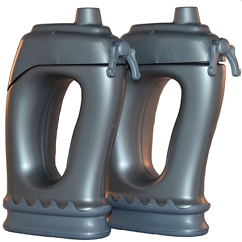 Best Sport Wasser Flaschen. Hydro, ausgewogene Hydration System – Perfekt für Laufen, Walking, Wandern oder Training mit gratis optional und abnehmbarem Gewicht Aufsätze
