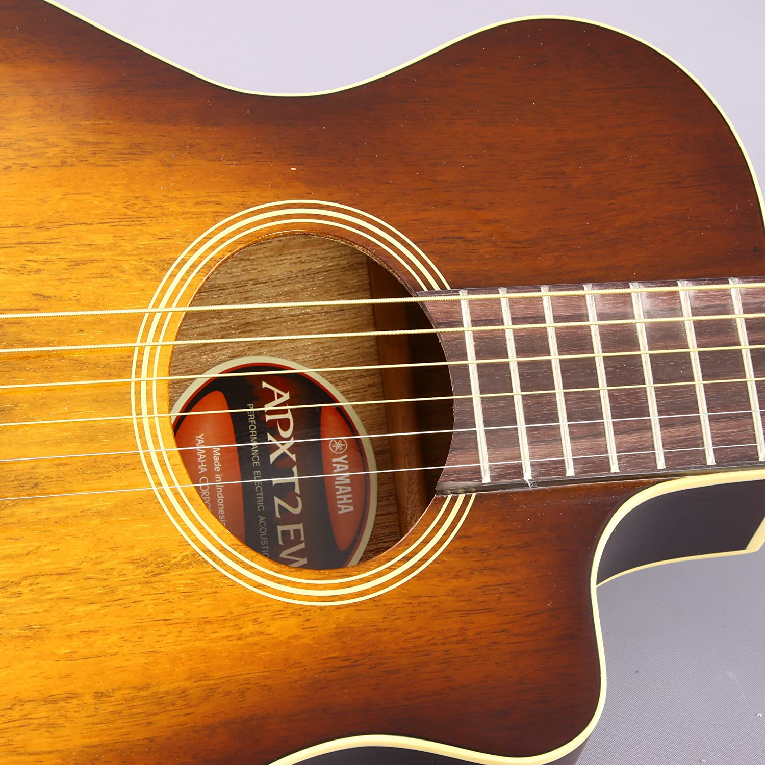 yamaha apxt2ew exotic wood 3 4 size thinline acoustic