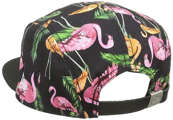 New Era Erwachsene Baseball Cap Mütze Tropical Flamingo Camper, Black Pink,  One size, 11148171  Amazon.de  Sport   Freizeit 5b04fefb3b
