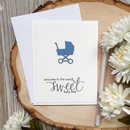 Amazon Com Baby Shower Card Handmade Card Greeting Card Its A