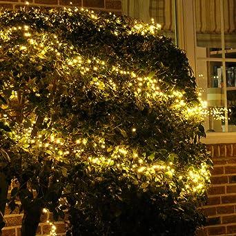 Weihnachtsdeko Lichterketten Außen.Lichterkette Warmweiß 20m Für Außen Und Innen Led Weihnachtsbeleuchtung Strom Betrieben Weihnachtsdeko Tannenbaum 1000 Led
