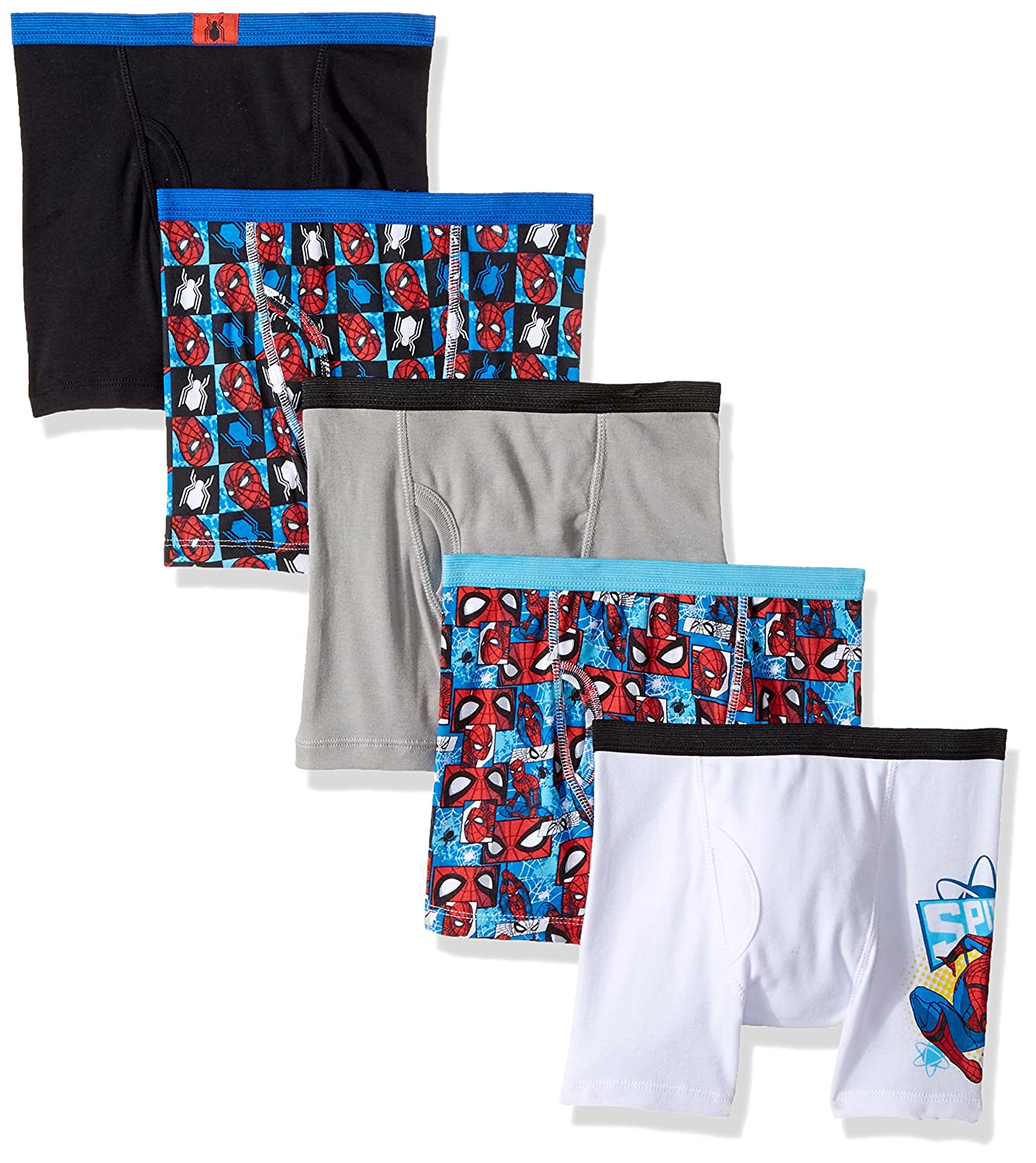 Nickelodeon Boys' Paw Patrol 5 Pack Boxer Brief Marvel BBP5270