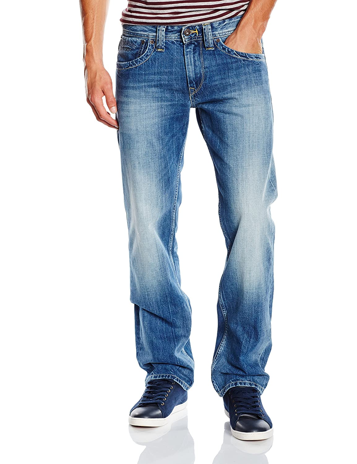 Pepe Jeans Herren Jeans Kingston Zip
