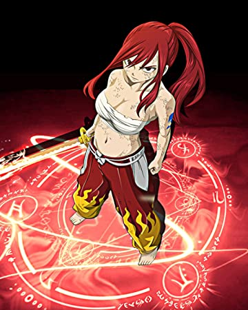 Erza Scarlet The Badass Female Anime Characters