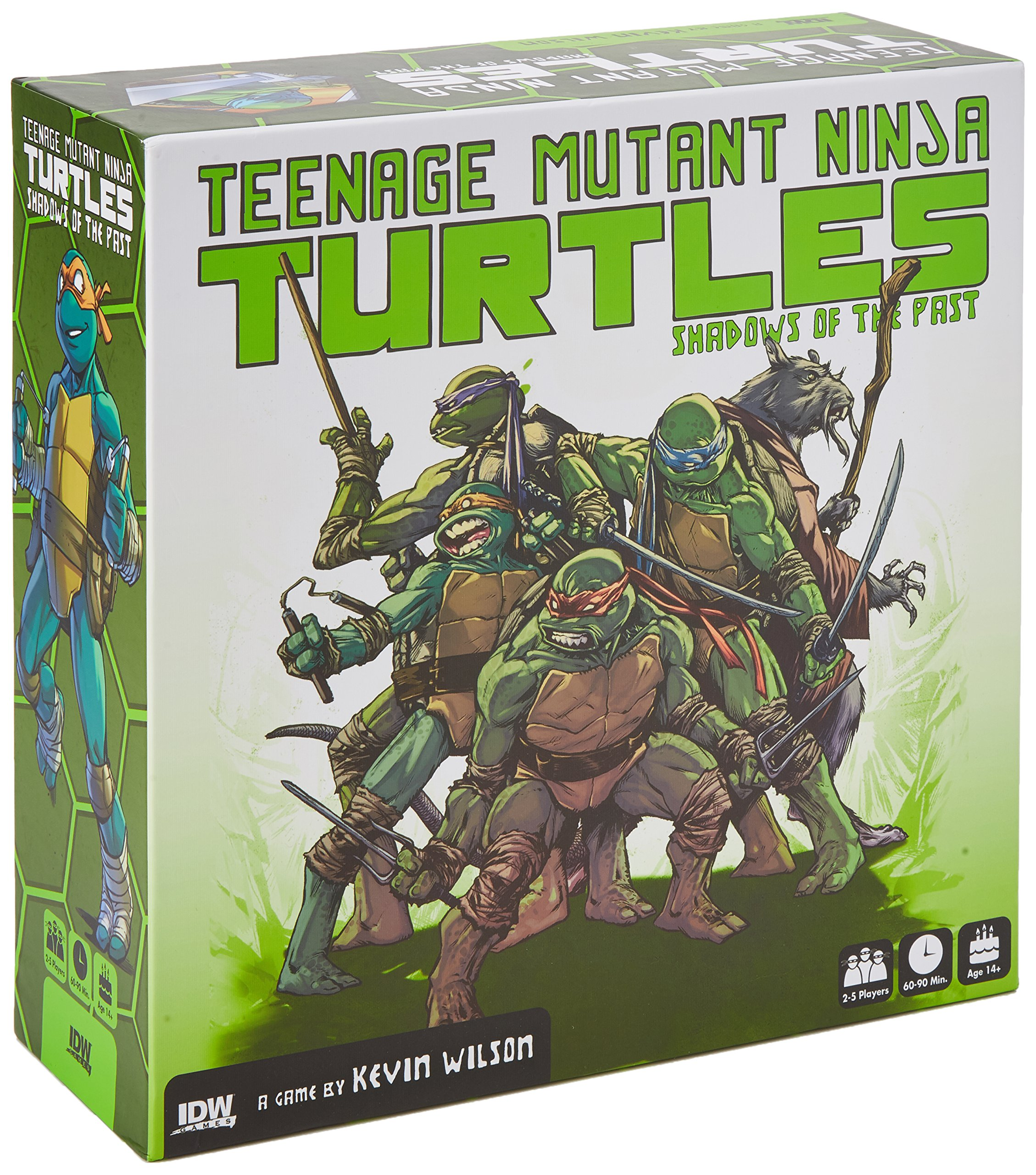 TMNT SHADOWS OF THE PAST BOARD GAME: Amazon.es: Idw Games ...