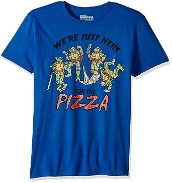 5eb47b71df1 Nickelodeon Men s TMNT Short Sleeve Graphic T-Shirt