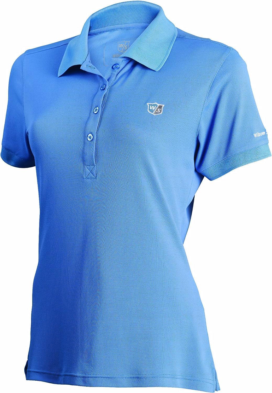 Wilson Staff - Polo para Mujer, tamaño L, Color Cendre Azul ...