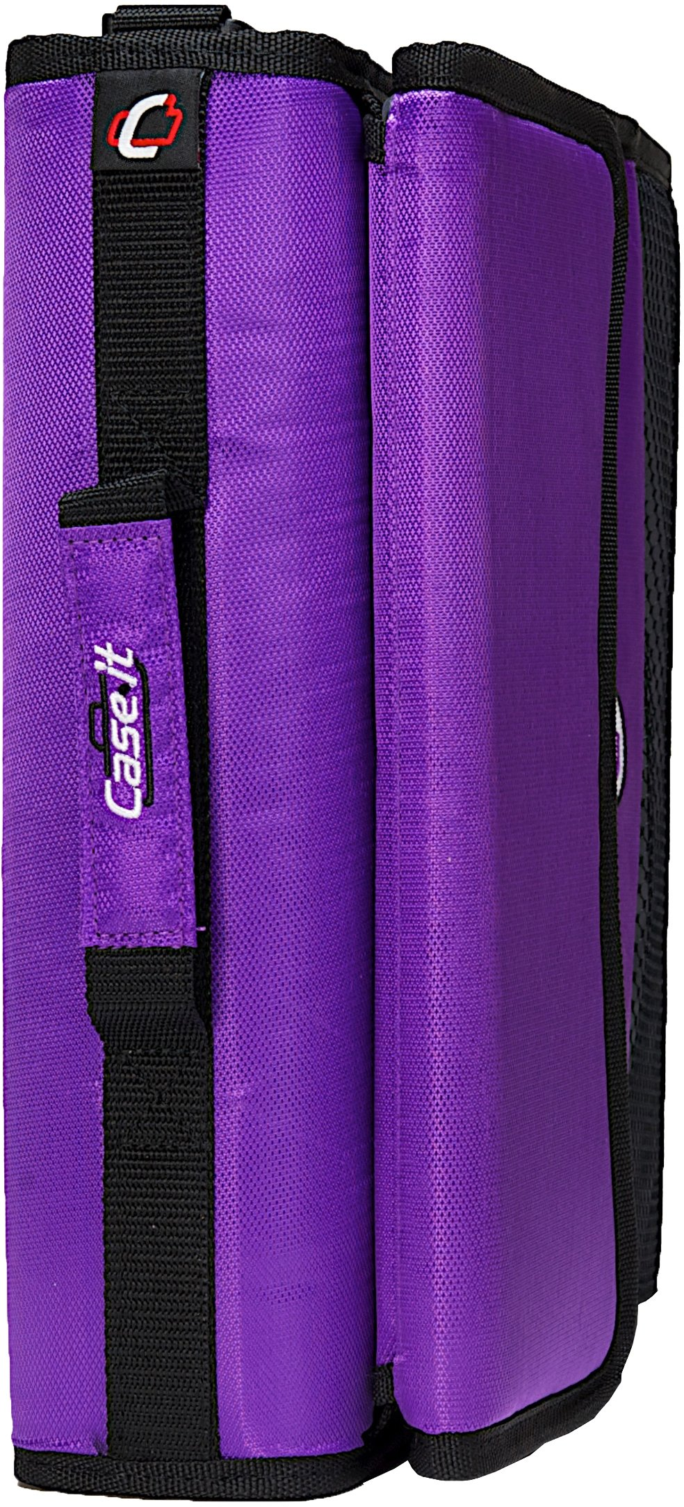 Case-it Sidekick 2-Inch O-Ring Zipper Binder with Removable Tab File, Purple, D-901-PUR by Case-It (Image #7)
