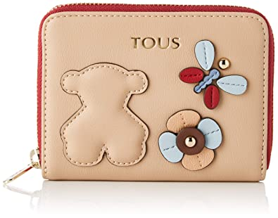 Amazon.com: Tous Womens 995960326 Wallet Beige Beige (Taupe ...