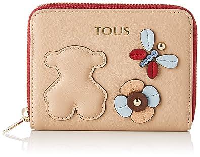 Amazon.com: Tous Womens 995960326 Wallet Beige Beige (Taupe ...