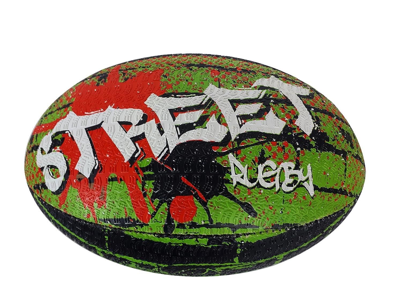 beRugbe 0brbstreet5094005 de balón de Rugby Unisex, Talla 5 ...