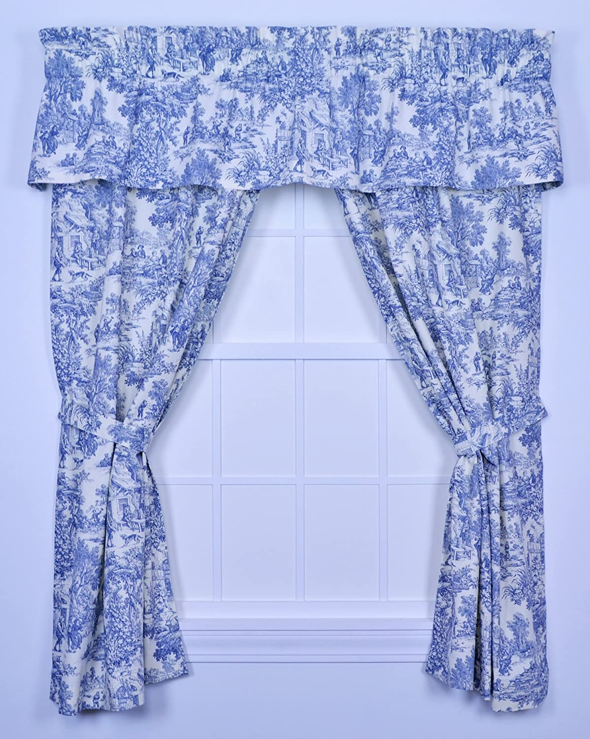 house houses king curtains country curtain home bedding set toile pin comforter kline curtainstoile sherry