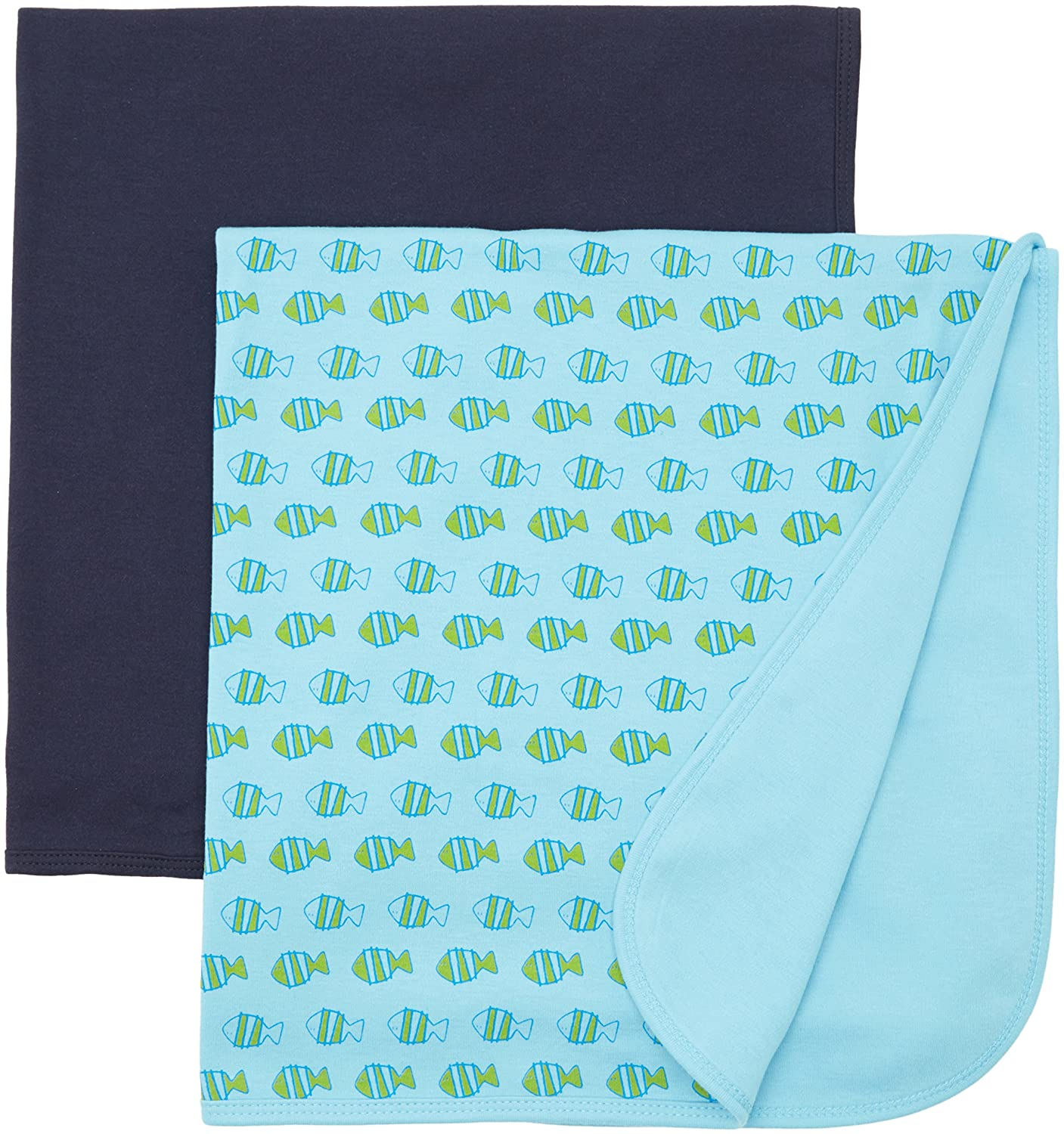 Care Unisex Baby Baby1 Scarf Care Baby Boys Scarf 2-pack Blue (Dark Navy) 550055