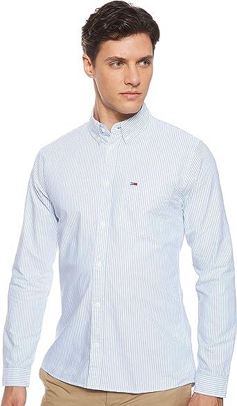 Tommy Hilfiger TJM Classics Oxford Ithaca Shirt Camisa para Hombre: Amazon.es: Ropa y accesorios