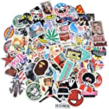 100pcs Random Stickers for Car Laptop Motorcycle Bicycle Luggage Decal Graffiti Patches Skateboard Stickers(100pcs)