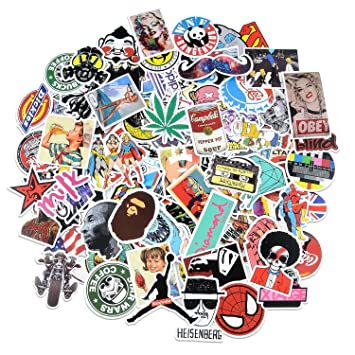 Love sticker pack 100 pcssecret garden sticker decals vinyls for laptopkids