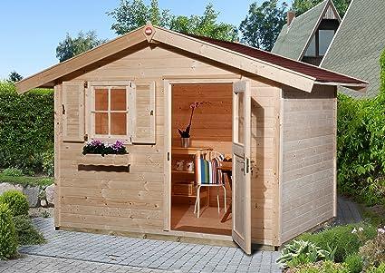 Weka Gartenhaus 123 Gr 3 28 Mm Et Ef Ohne Boden Amazon De Garten