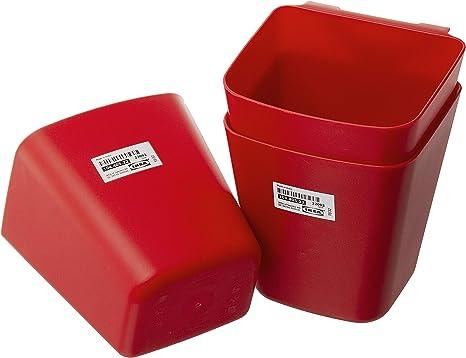 Ikea Sunnersta Hanging Kitchen Storage Containers Red 12 X 11 Cm Pack Of 3 Amazon De Kuche Haushalt