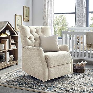 Prime Classic Brands Cynthia Popstitch Upholstered Glider Swivel Rocker Chair Shell Beatyapartments Chair Design Images Beatyapartmentscom