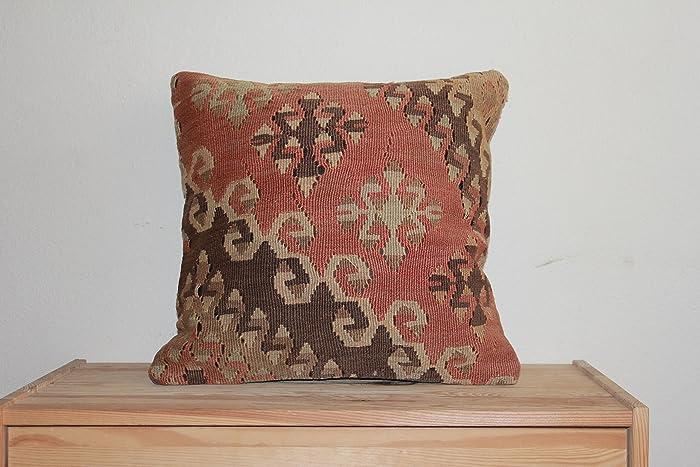 Amazon 40x4040x40decorative Pillow Cases Kilim Pillow Cases Delectable Best Place To Buy Decorative Pillows