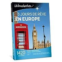 WONDERBOX - Coffret cadeau - 3 JOURS DE REVE EN EUROPE