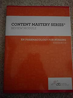Ati rn adult medical surgical nursing 100 author 9781565335653 rn pharmacology for nursing edition 7 review module fandeluxe Gallery
